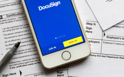 ETP and Digital Signature (via DocuSign)